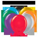 17 inch Plain Balloons